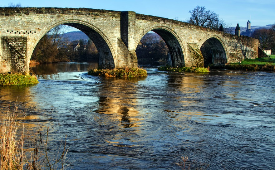 Old Stirling bridge